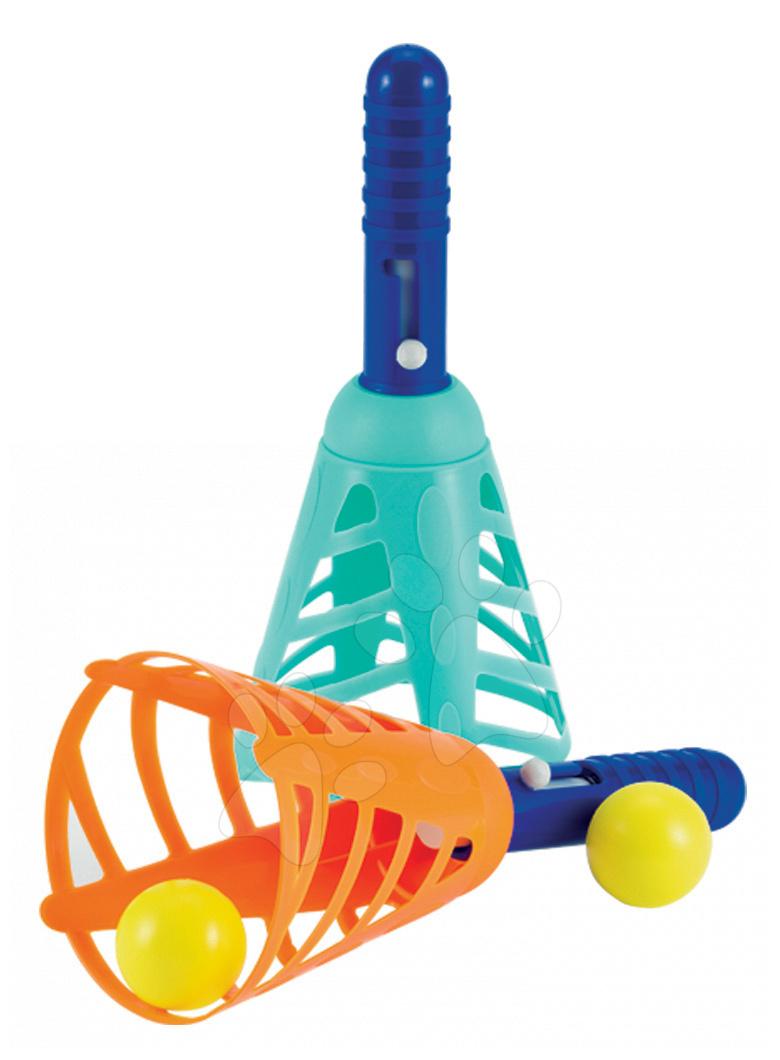 Športové hry pre najmenších - Hra s loptičkami Écoiffier zelená / červená od 18 mes