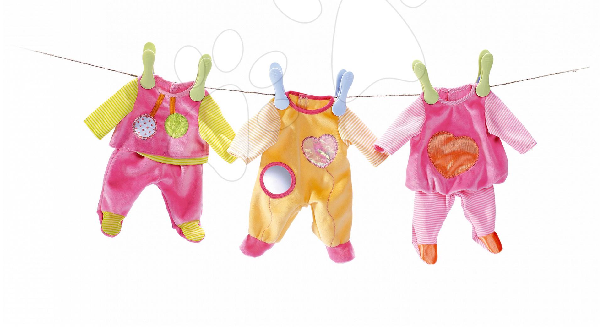 Oblečení pro panenku 27 cm MiniKiss Smoby tři různé druhy od 12 měsíců