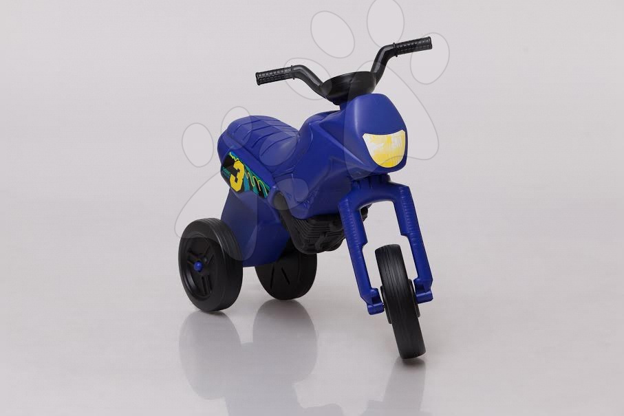 Motorky - Odrážadlo Enduro malé tmavomodré od 18 mes