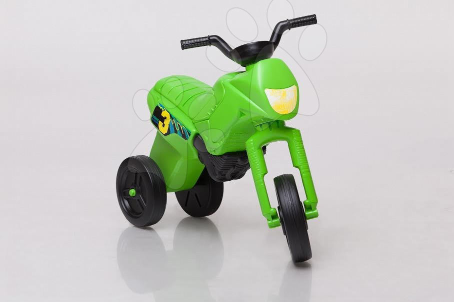 Motorky - Odrážedlo Enduro kawasaki malé zelené od 18 měsíců