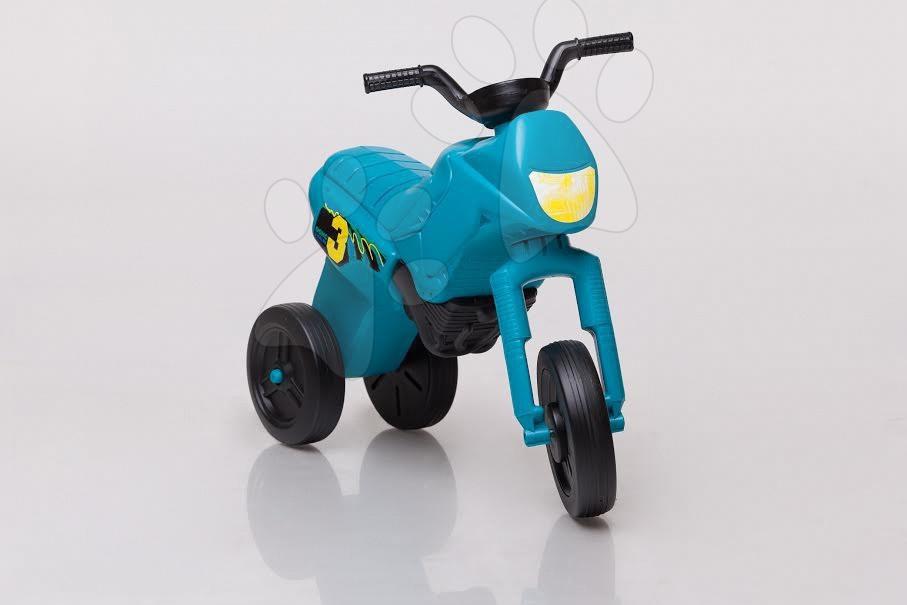 Motorky - Odrážedlo Enduro malé tyrkysové od 18 měsíců