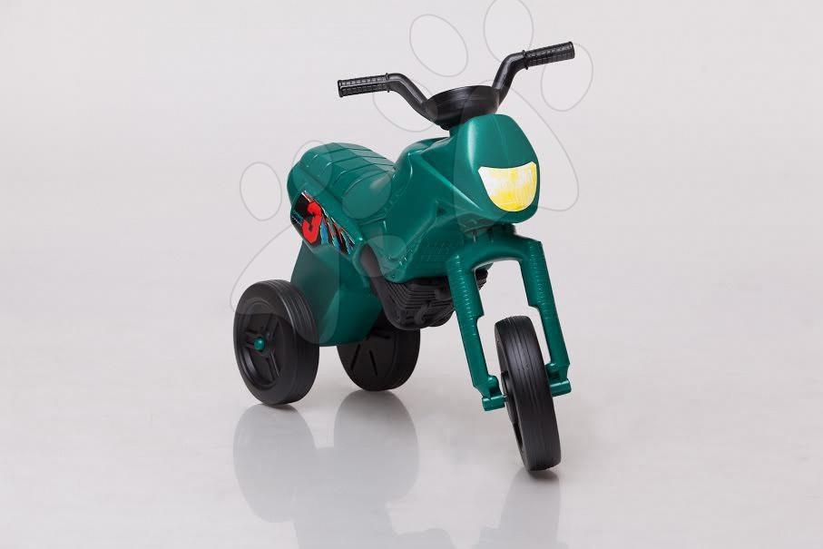Motorky - Odrážadlo Enduro malé tmavozelené od 18 mes