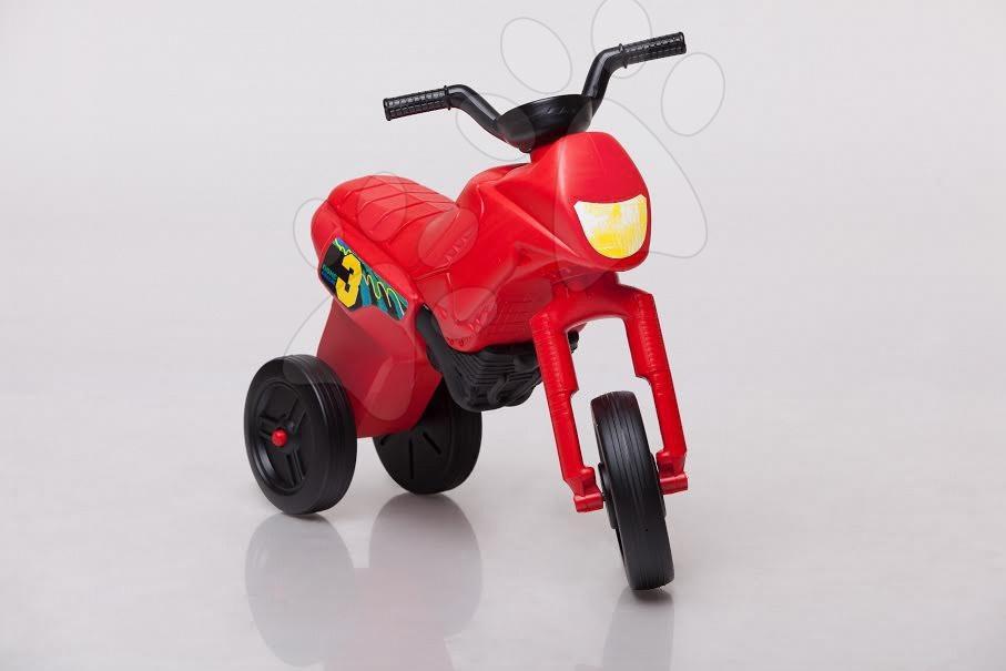 Motorky - Velké odrážedlo Enduro červené od 24 měsíců