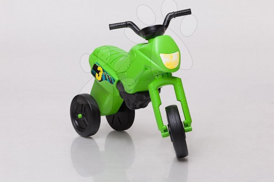 Motorky - Veľké odrážadlo Enduro kawasaki zelené od 24 mes