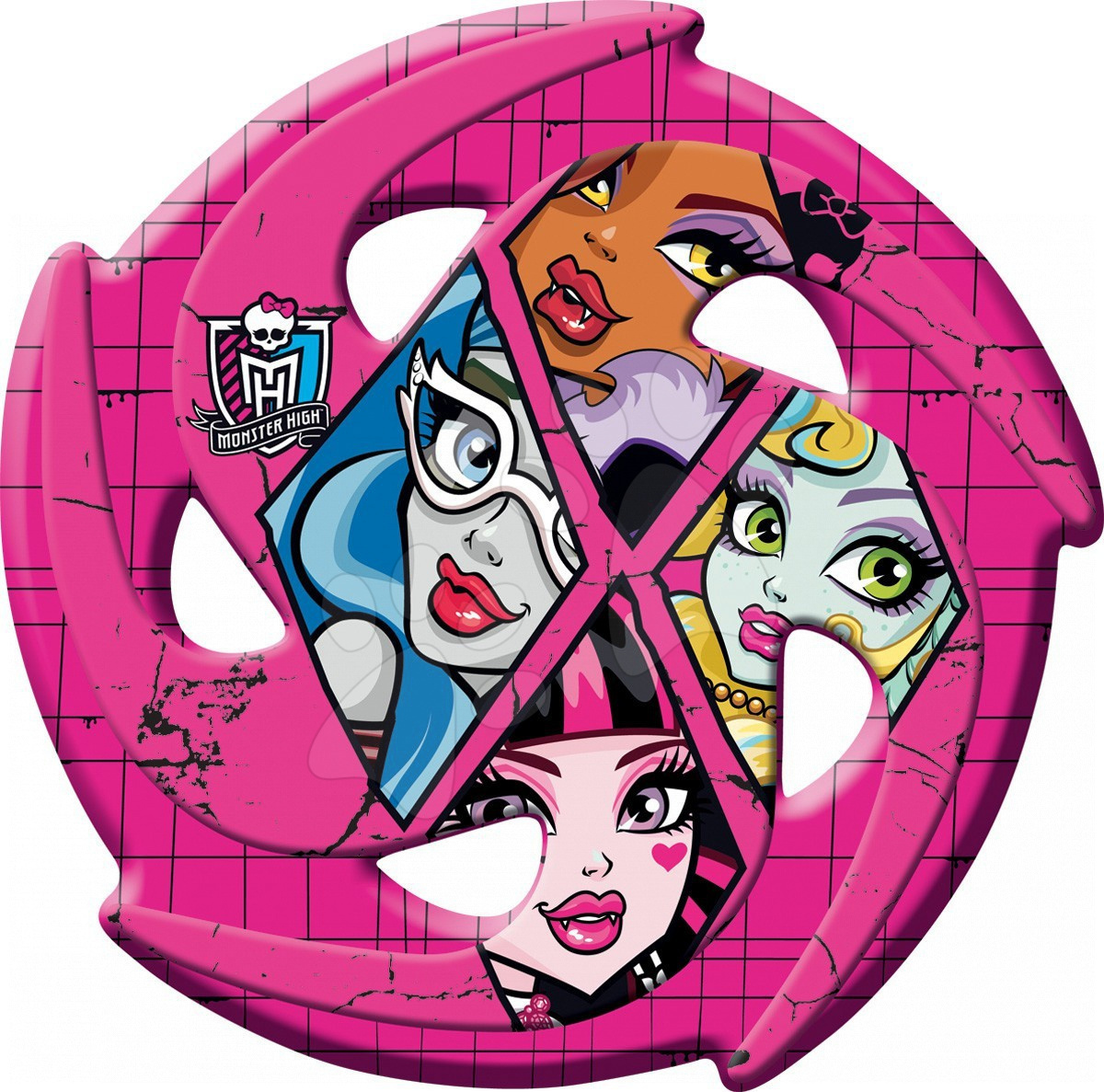 Lietajúci tanier Monster High Mondo priemer 21 cm