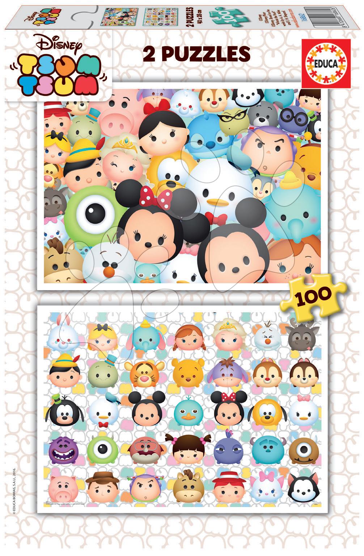 Puzzle Disney Tsum Tsum Educa 2x100 dílků od 5 let