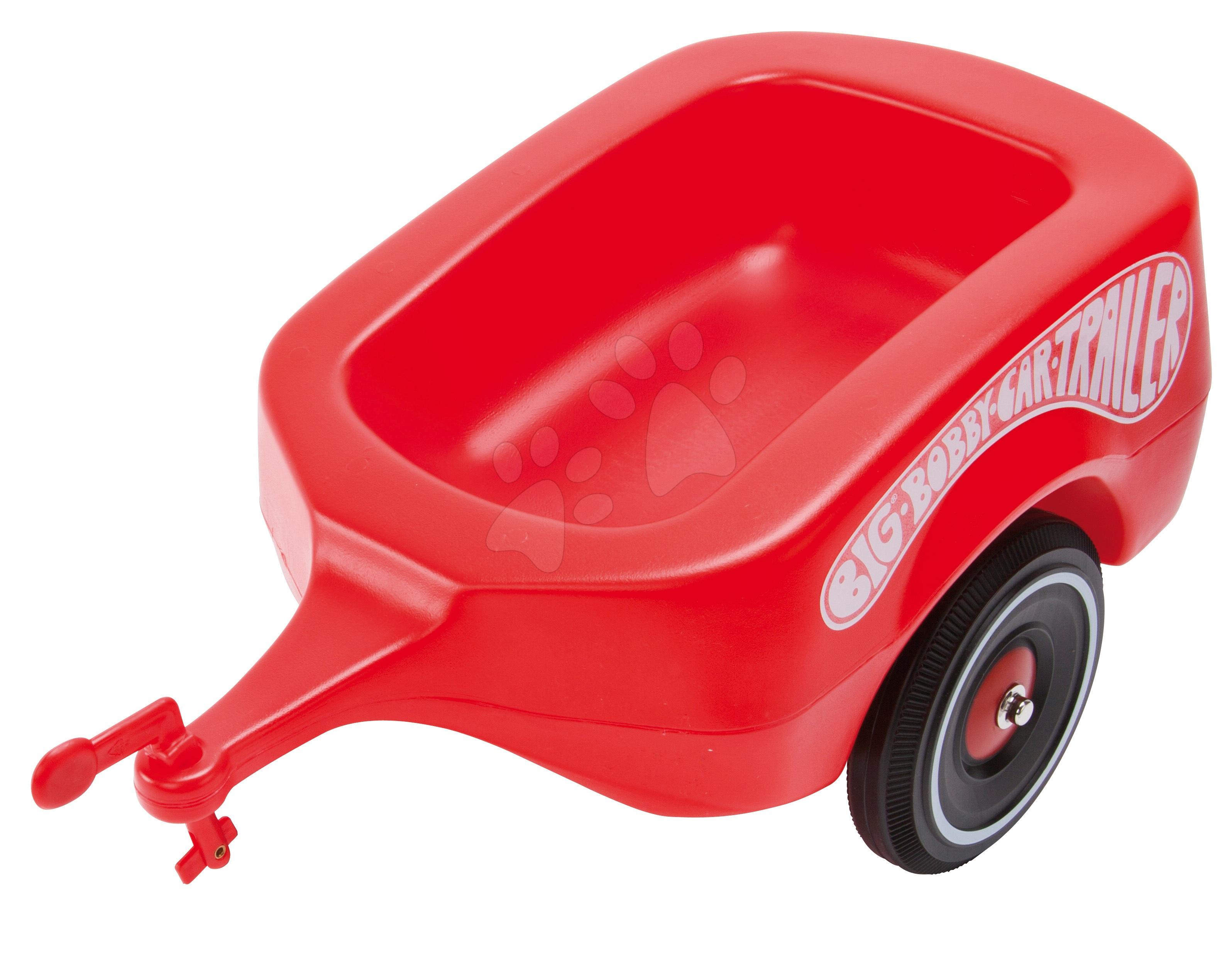 Přívěsný vozík BIG červený k odrážedlům BIG od 12 měsíců