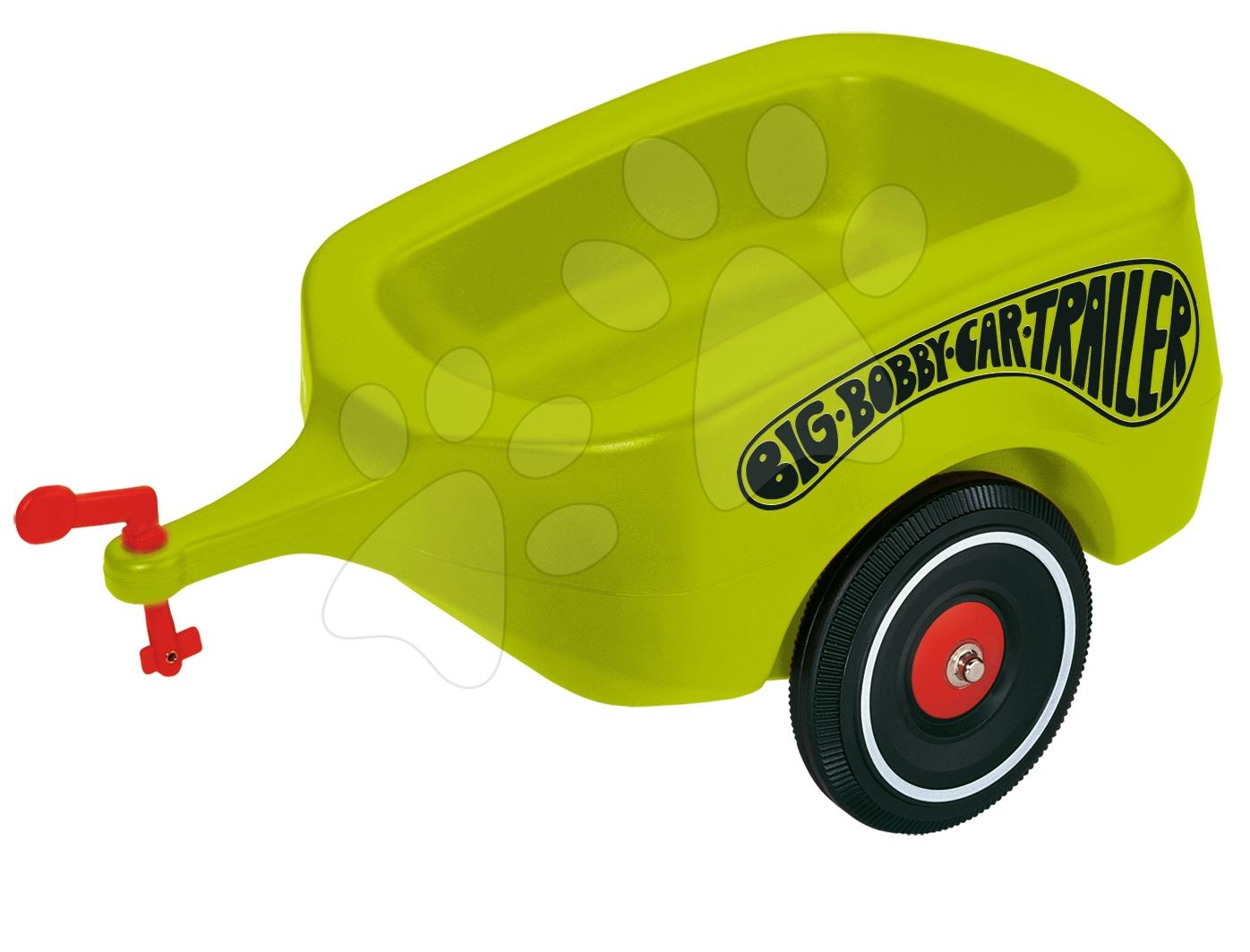 Přívěsný vozík BIG zelený k odrážedlům BIG od 12 měsíců