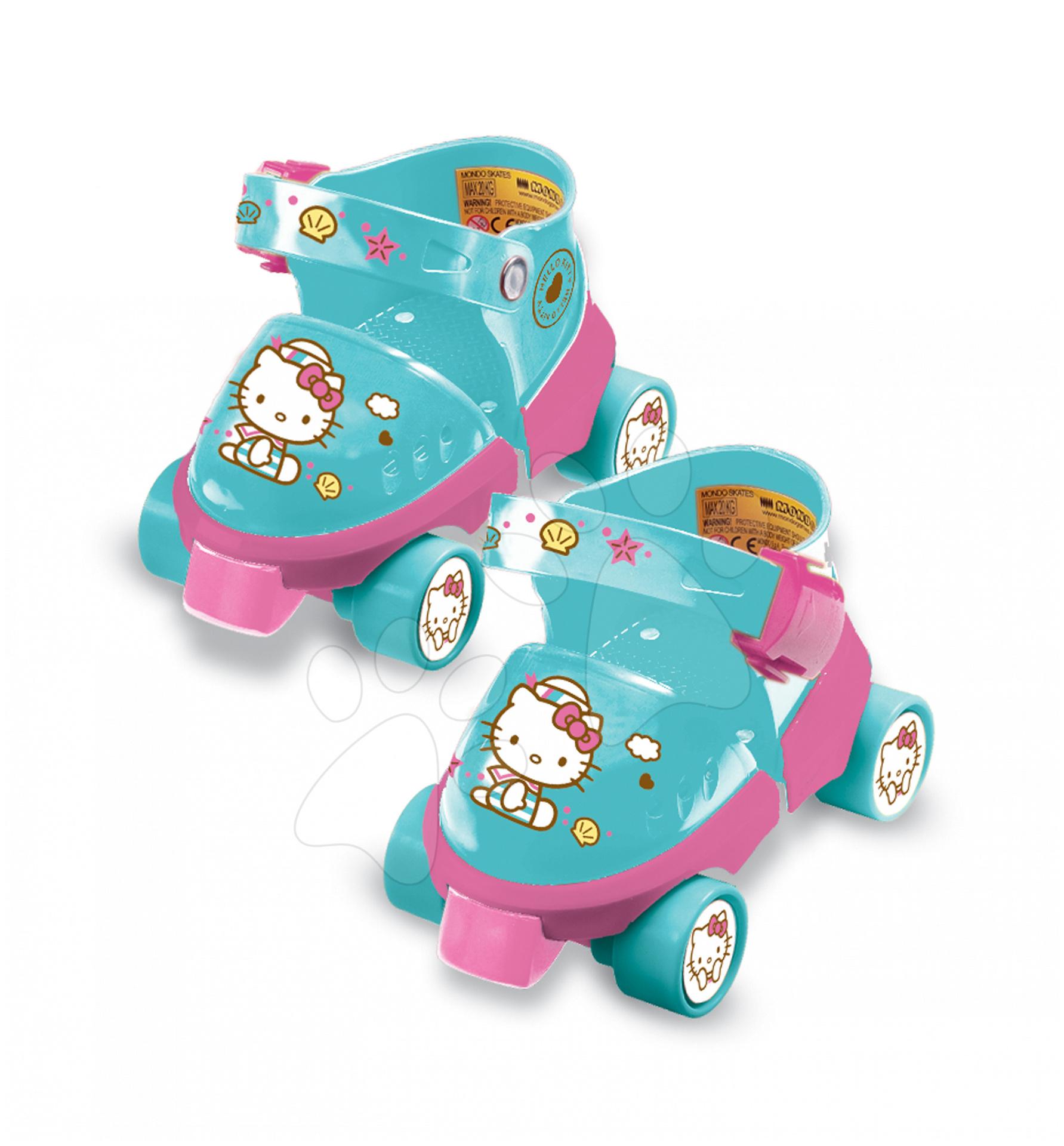 Kolečkové brusle Hello Kitty Mondo s chrániči velikost 22-29