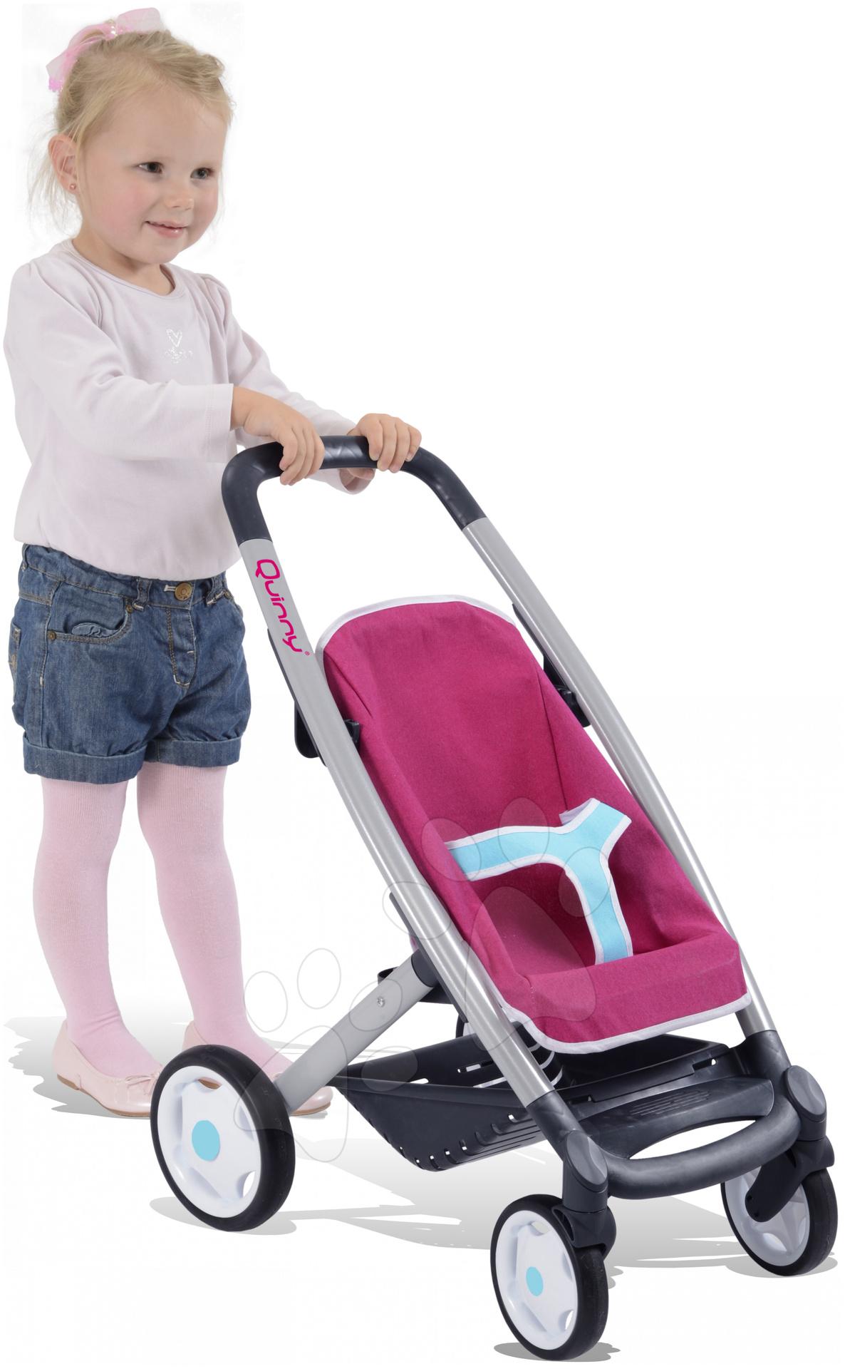 Babakocsi játékbabábal és ruhácskákkal Smoby b3fdb9d834