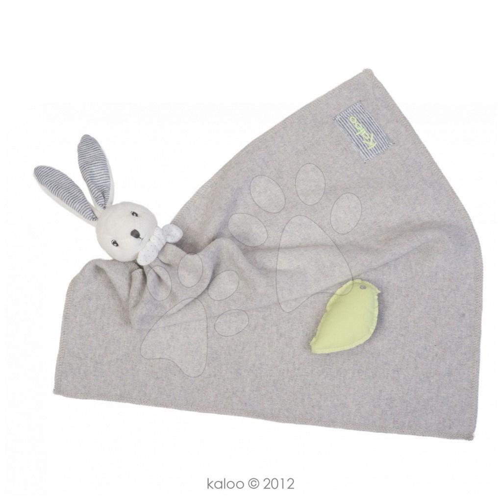 Plyšový králíček na mazlení Zen-Maxi Doudou Kaloo 40 cm pro nejmenší