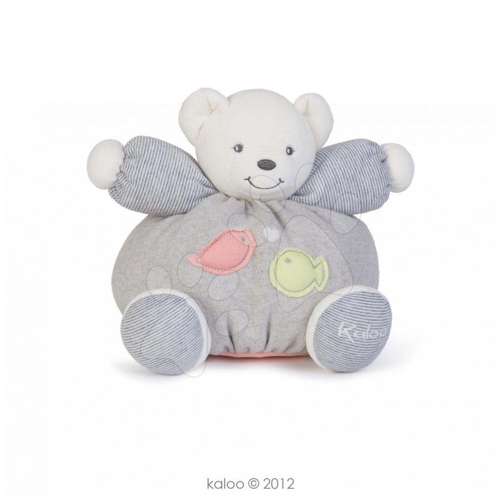 Plyšový medvídek Zen-Chubby Tenderness Kaloo 25 cm v dárkovém balení pro nejmenší pastelový