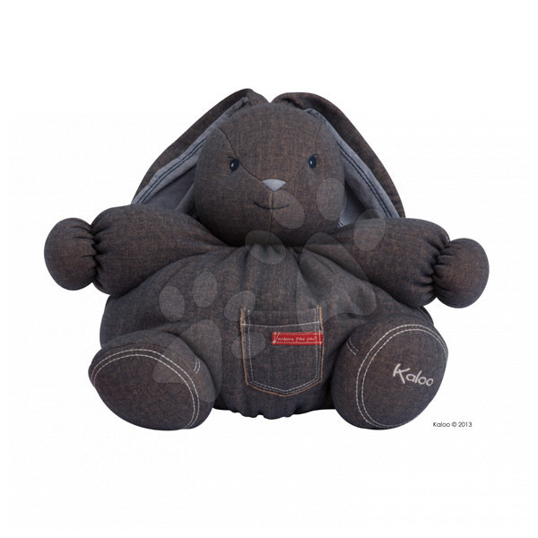 Hračky pre bábätká - Plyšový zajačik Blue Denim-Maxi Chubby Kaloo 40 cm pre najmenších modrý