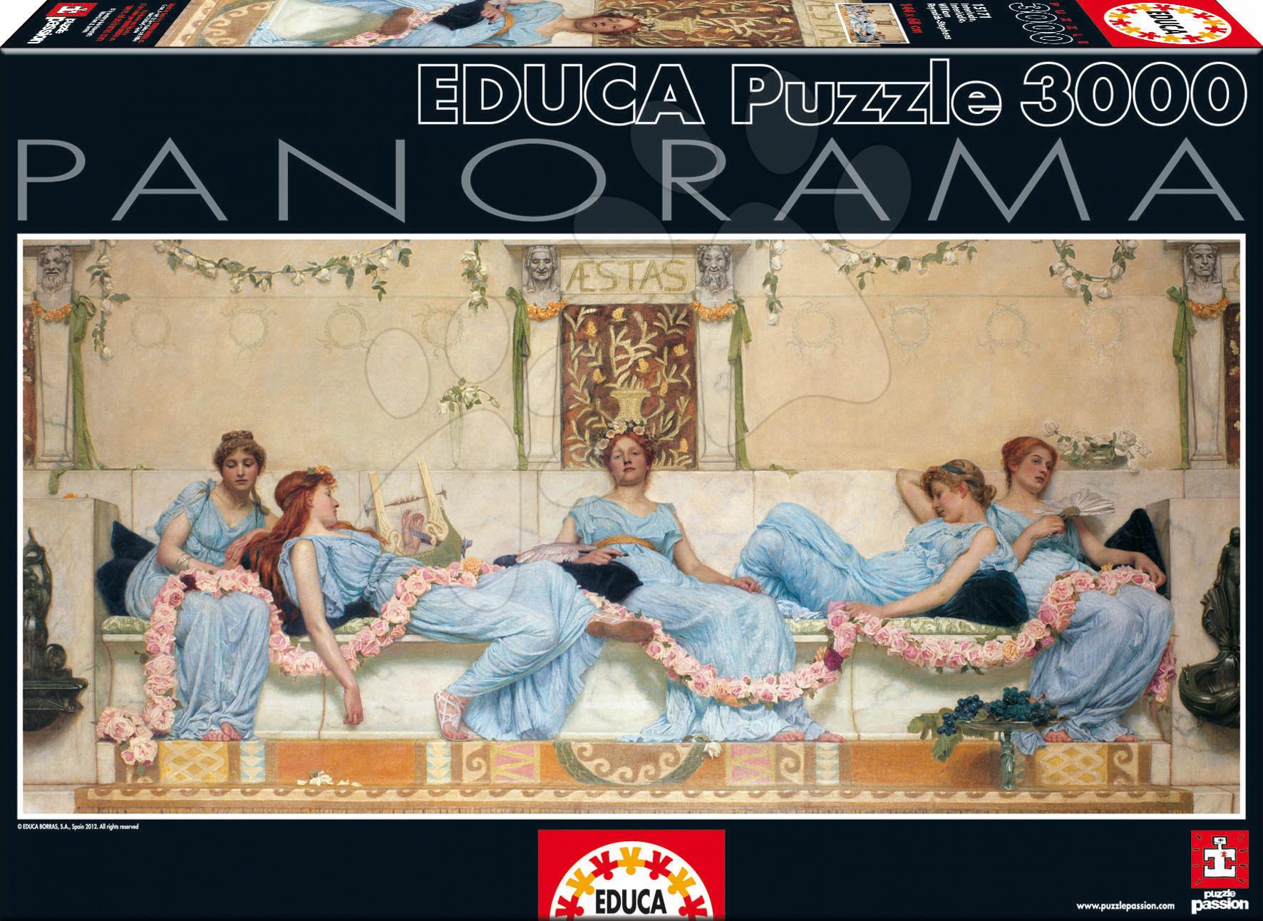Puzzle 3000 dielne - Puzzle Stephens Interlude, Sir William Reynolds Educa 3 000 dielov od 15 rokov