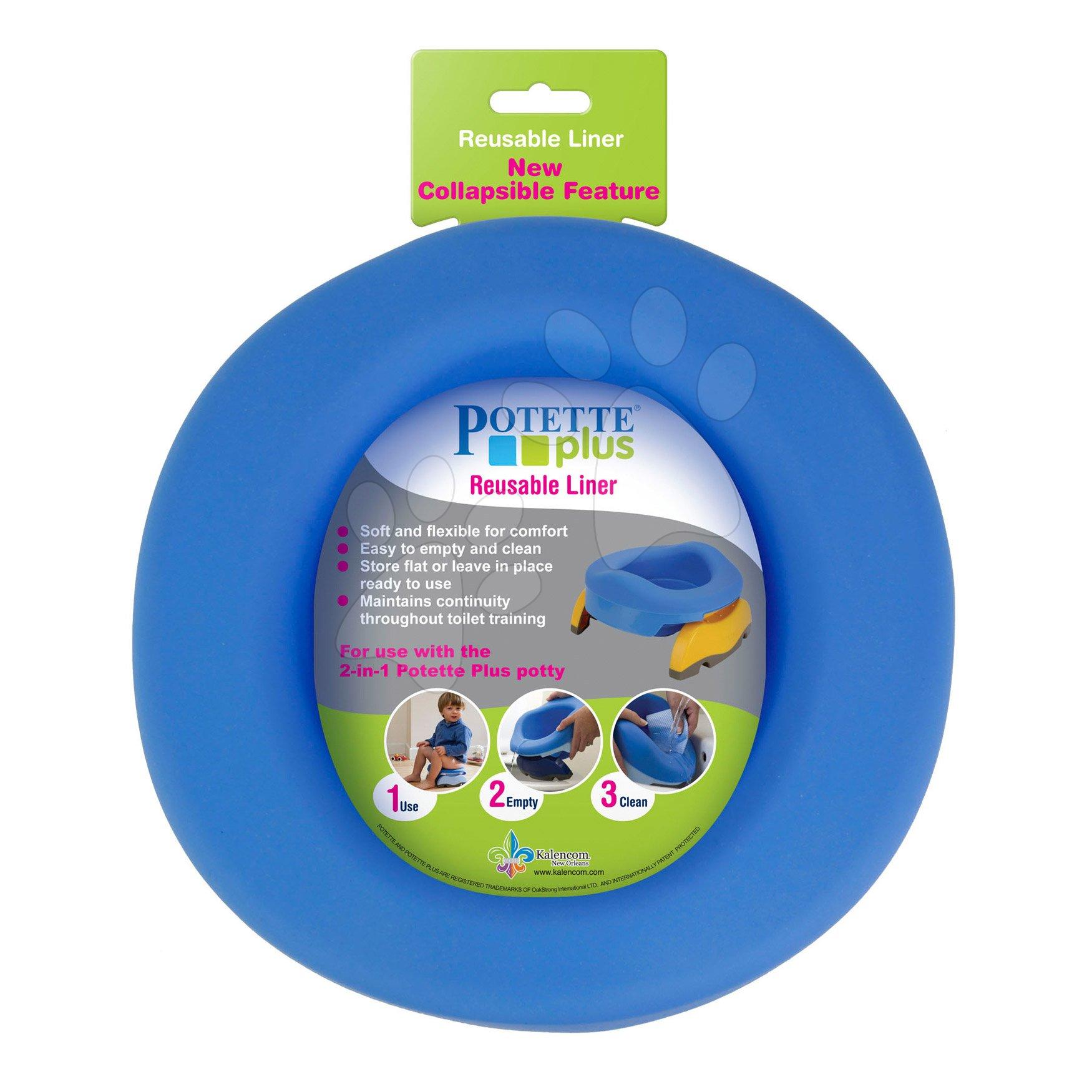 Potette Plus dětská gumová vložka do WC T20131 modrá