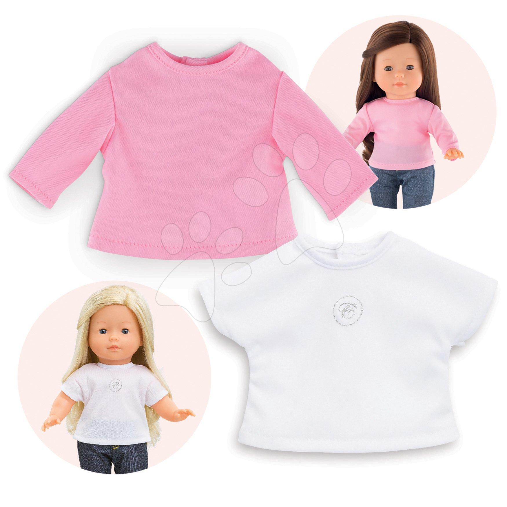 Oblečenie T-shirts Ma Corolle 2 kusy pre 36 cm bábiku od 4 rokov