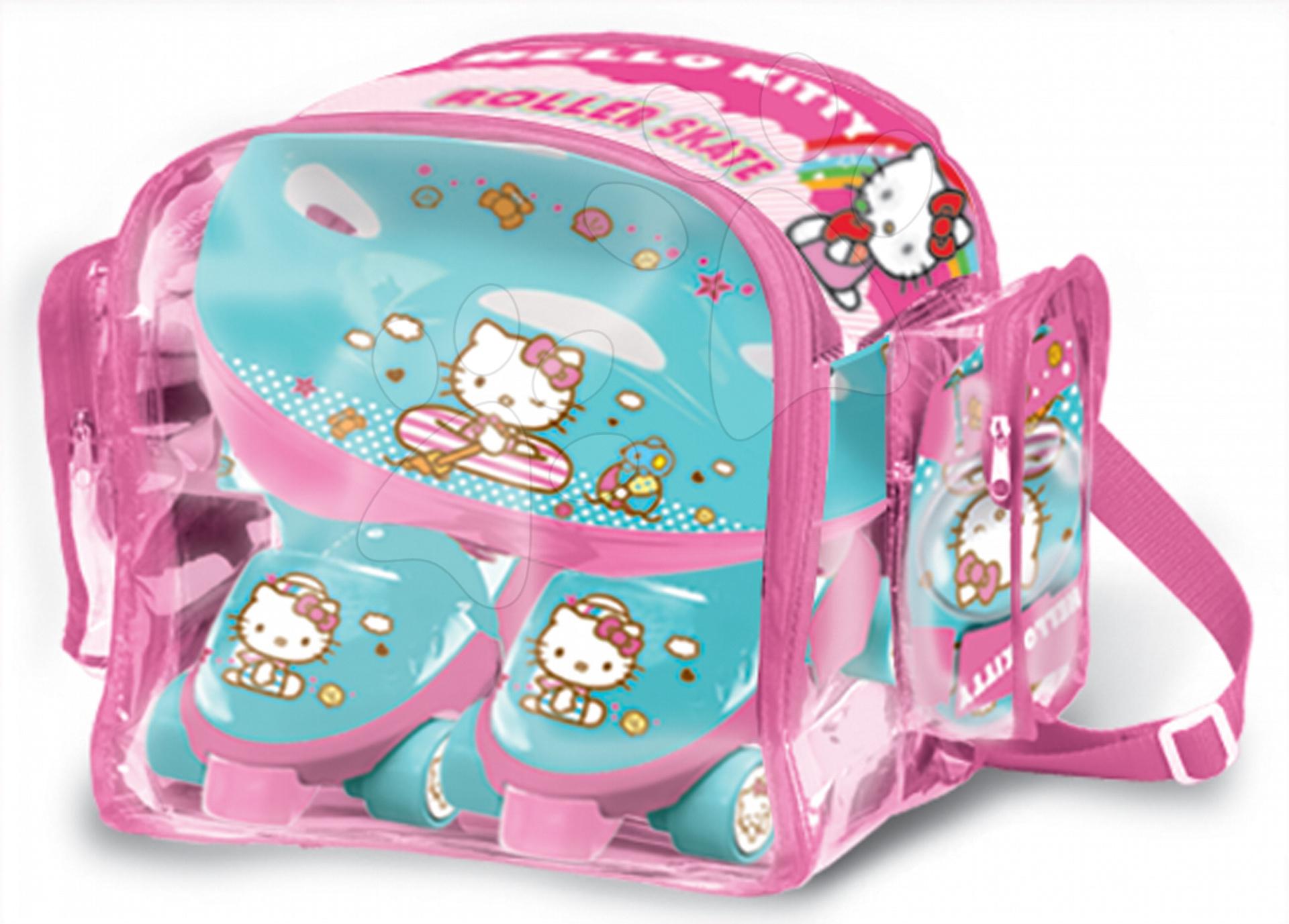 Kolieskové korčule Hello Kitty Mondo s prilbou a chráničmi veľkosť 22-29 c664fde5860