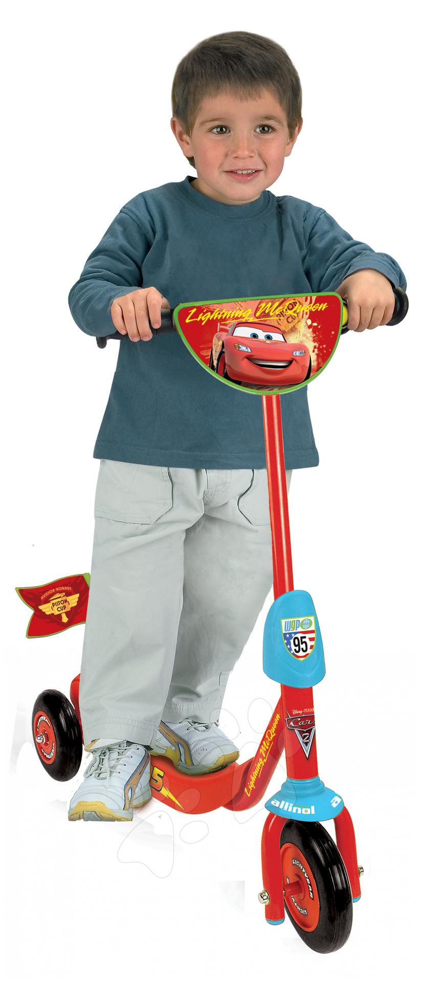 Roller Verdák II. Smoby háromkerekű, piros-kék