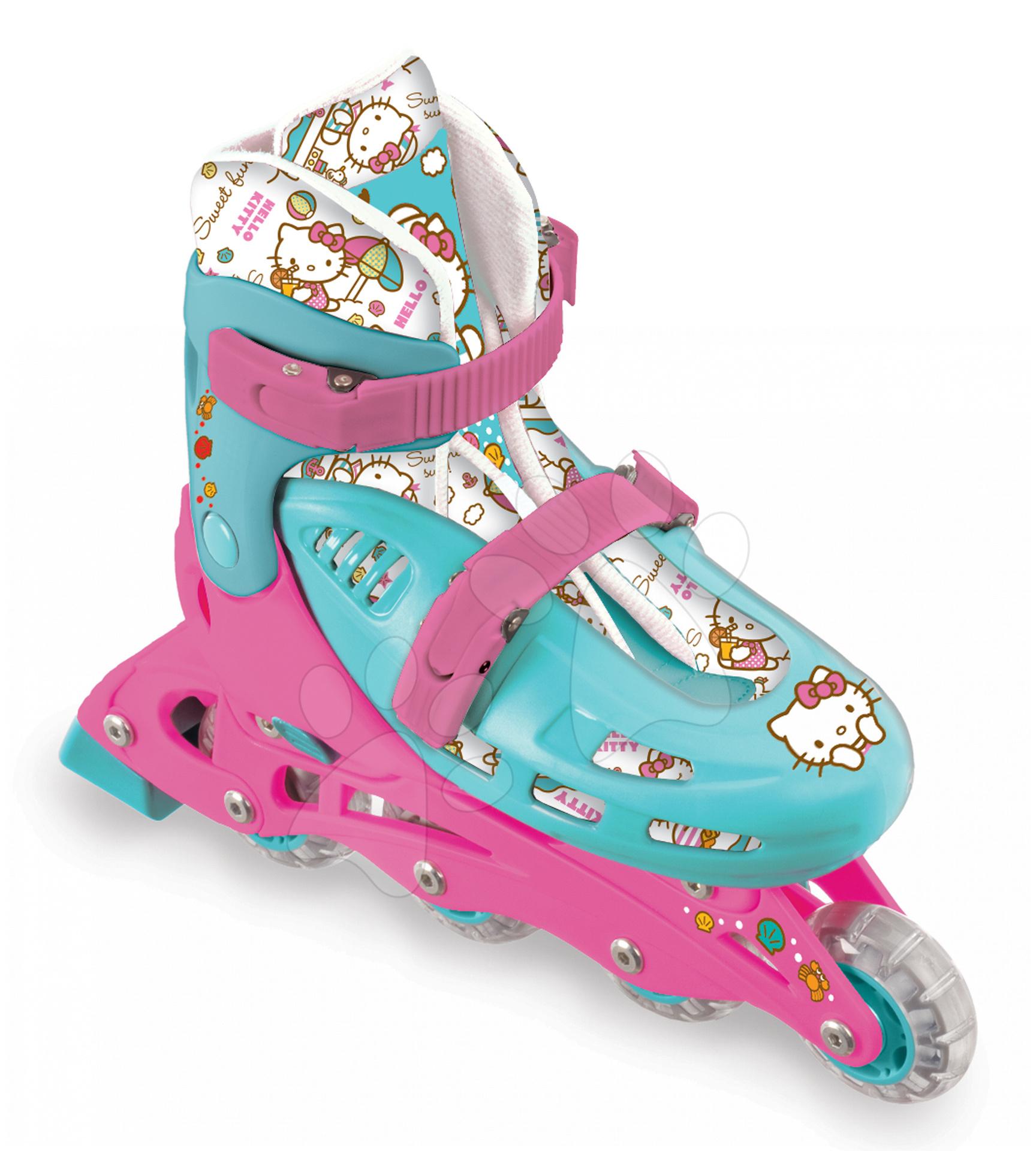 Staré položky - Kolieskové korčule In Line Hello Kitty Mondo veľkosť 33-36 od 5 rokov