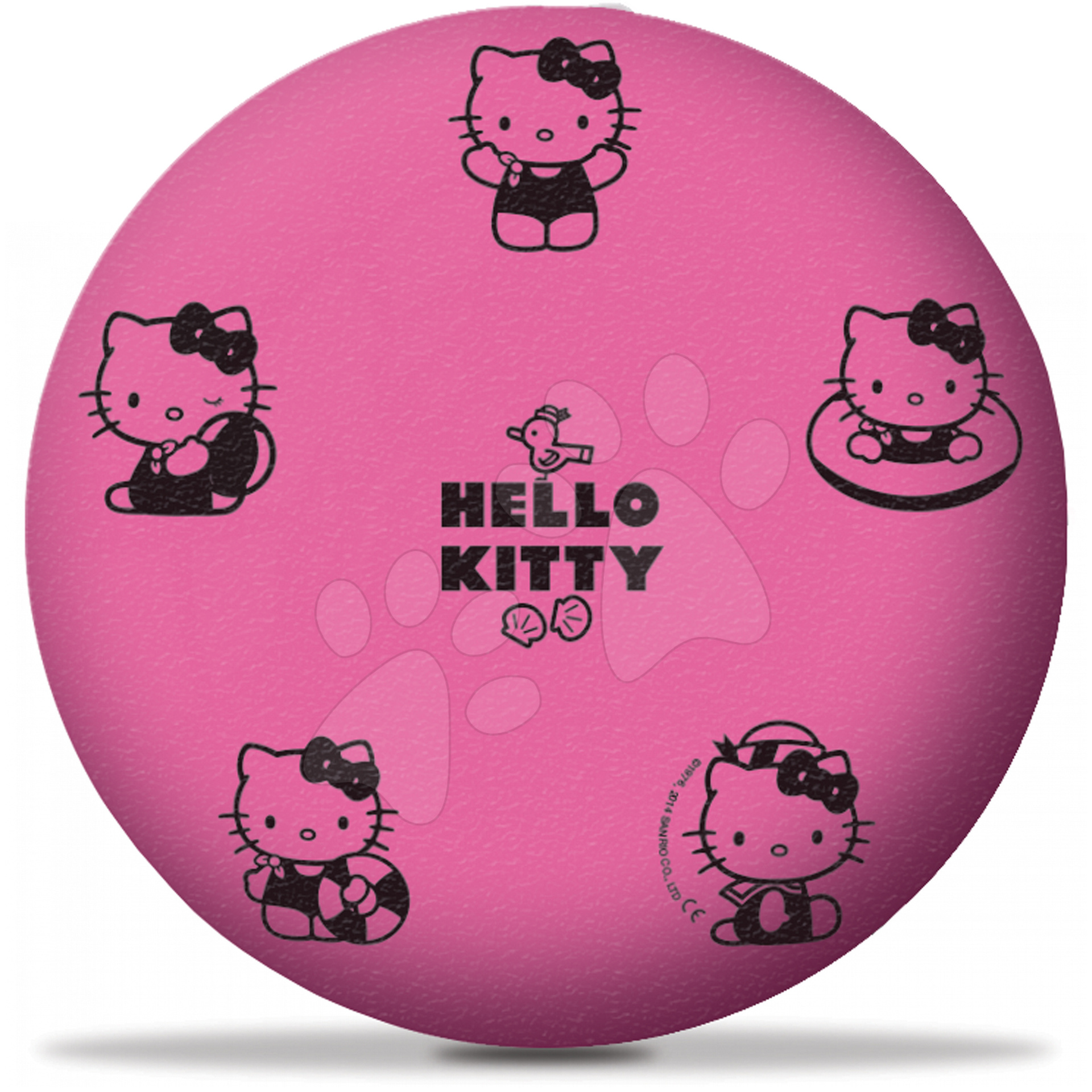 Pěnové míče - Pěnový míč Hello Kitty Mondo 20 cm od 24 měsíců