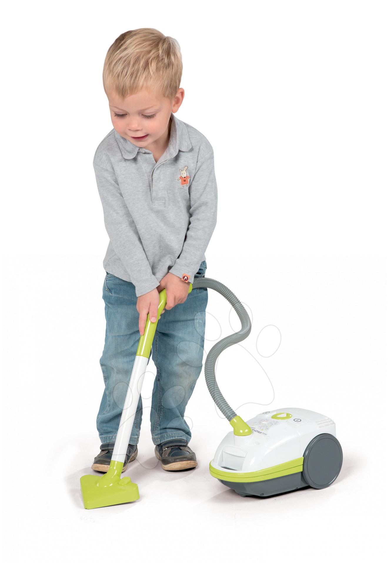 Dětský vysavač Rowenta Artec 2 Smoby elektronický zelený