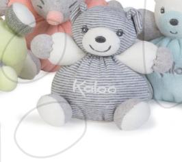 Plyšový medvídek Zen-Mini Chubbies Kaloo 12 cm pro nejmenší proužkovaný