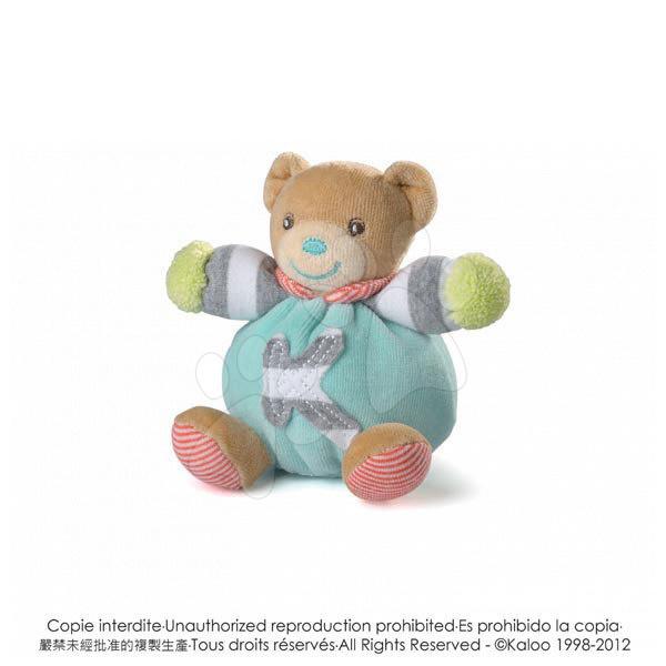 Plyšový medvídek Bliss-Mini Chubbies Kaloo 12 cm pro nejmenší modrý