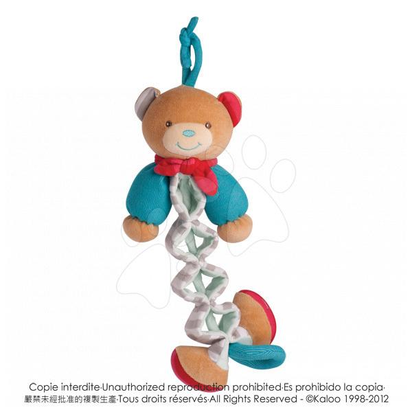Hračky nad postieľku - Plyšový medvedík Bliss-Zig Kaloo spievajúci naťahovací 25-40 cm v darčekovom balení pre najmenších