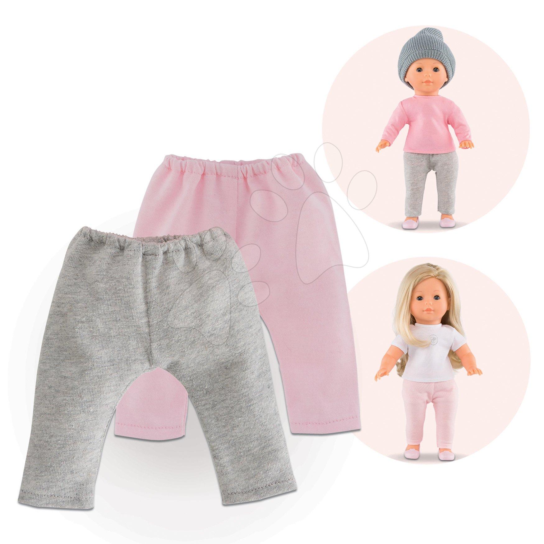 Oblečení 2 Leggings Ma Corolle pro 36 cm panenku od 4 let
