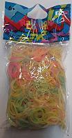 Rainbow Loom eredeti gumi mix Foszforeszkáló 600 darab 6 évtől