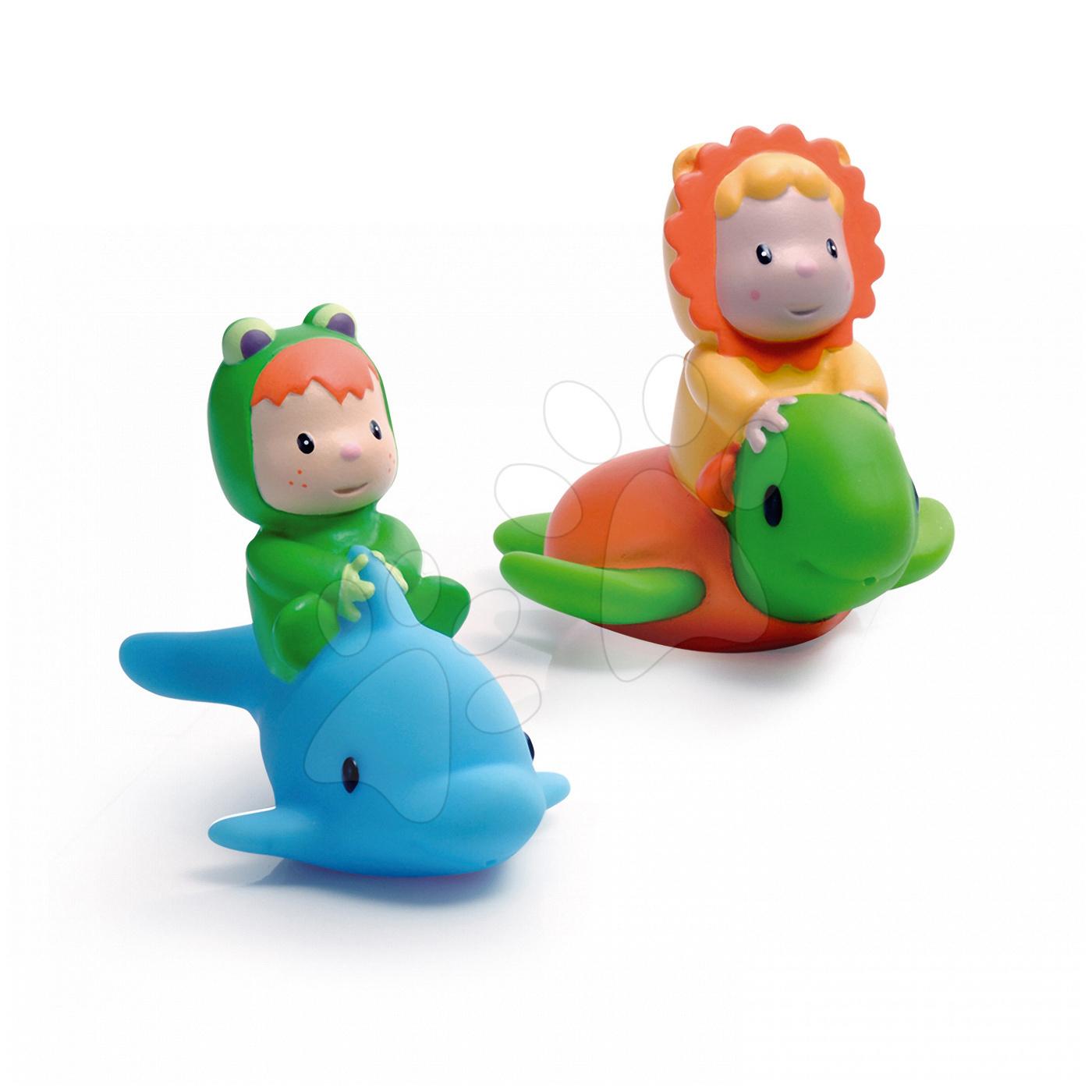 Hračky do vany - Stříkající rybička nebo želva Cotoons Smoby #VALUE! od 12 měsíců