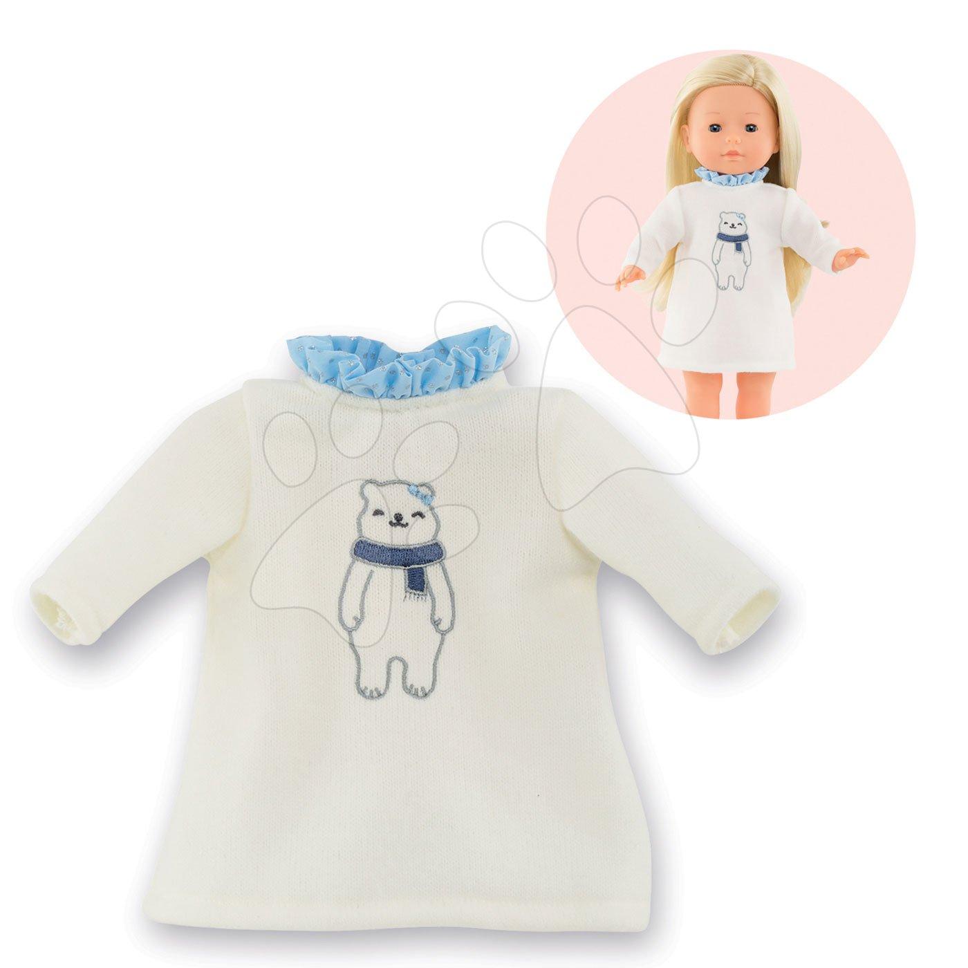 Oblečenie Dress Winter Sparkle Ma Corolle pre 36 cm bábiku od 4 rokov