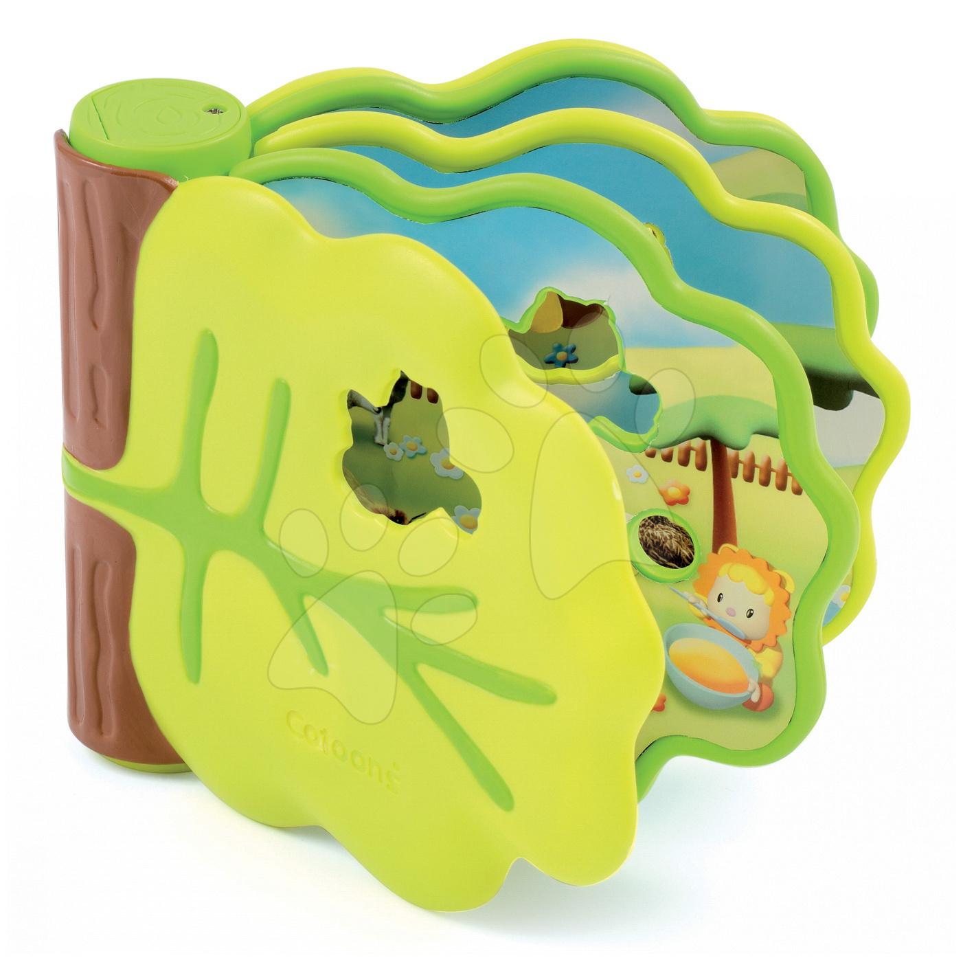 Hrací knížka Cotoons Smoby se zvířátky 12 melodií od 10 měsíců