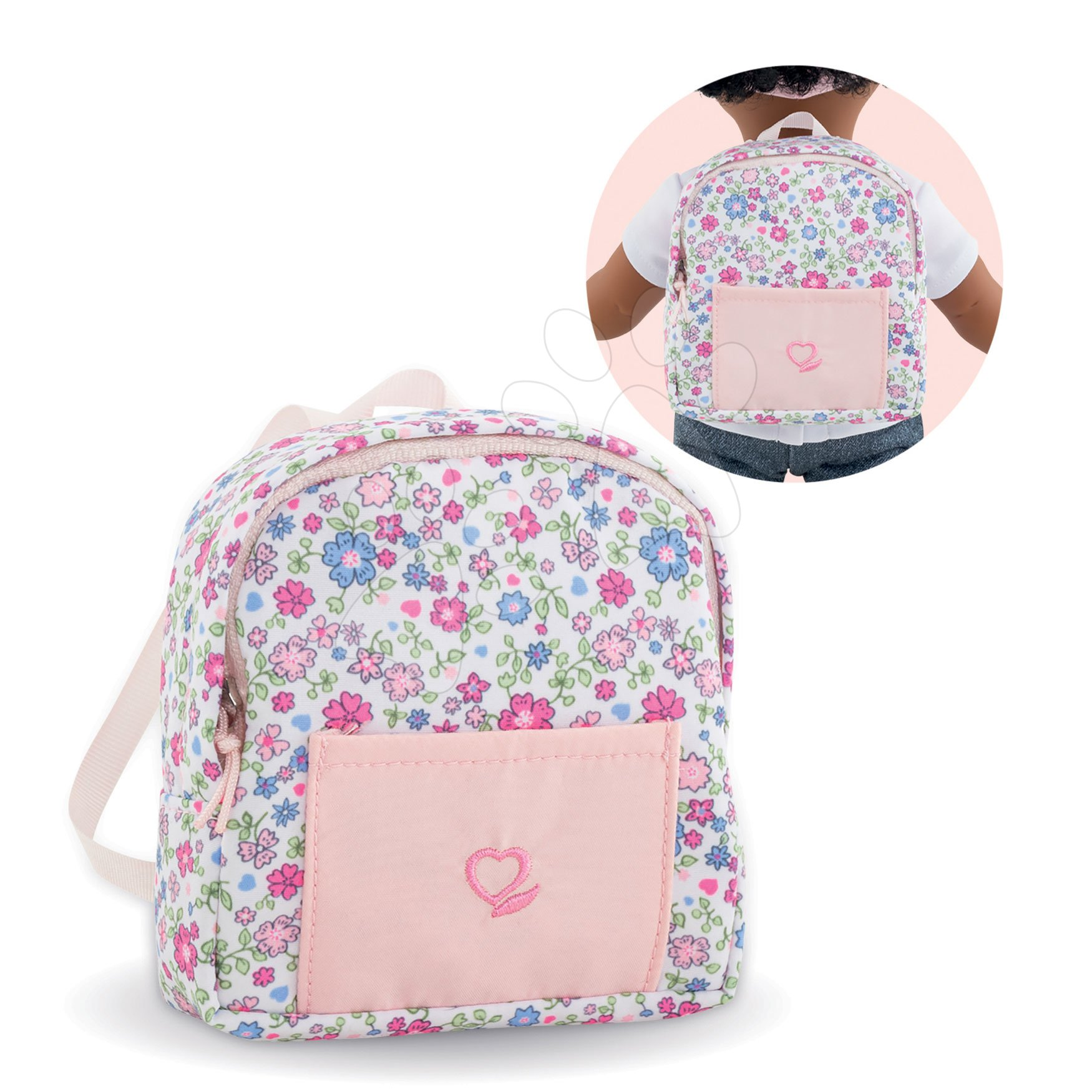 Batoh Backpack Corolle's Flowers Ma Corolle pre 36 cm bábiku od 4 rokov