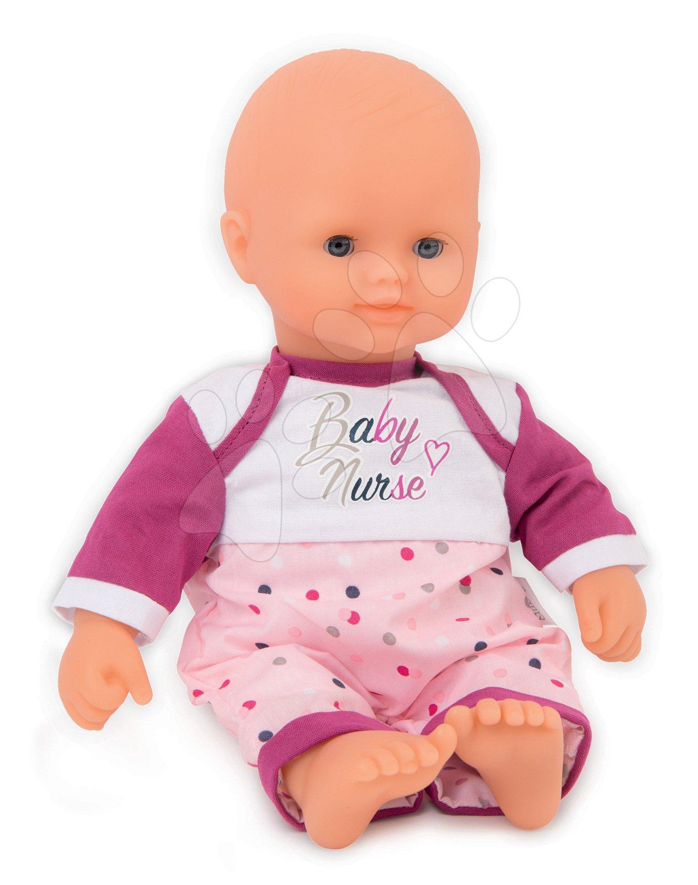 Panenka Violette Baby Nurse Smoby 32 cm měkká textilní od 24 měsíců