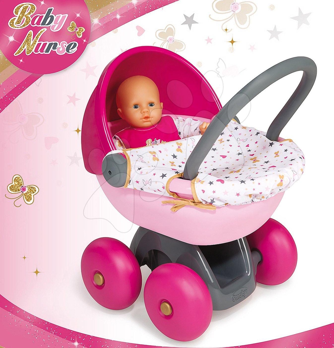 Gyerek babakocsi játékbabának Baby Nurse Smoby tojás 56dc0067c4