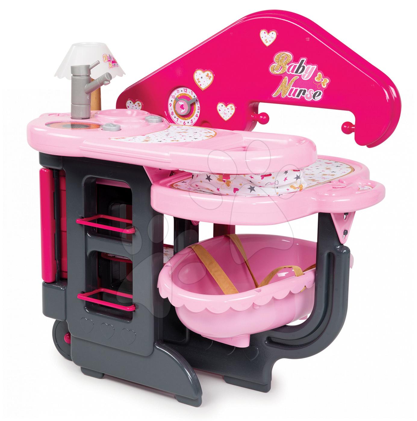 Kocsi játékbabának és babacenter 1f7add5903