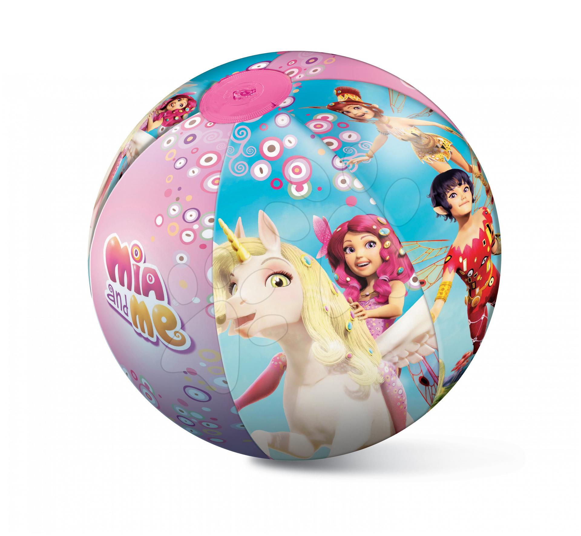 nafukovací míč na pláž Mia and Me Mondo 50 cm