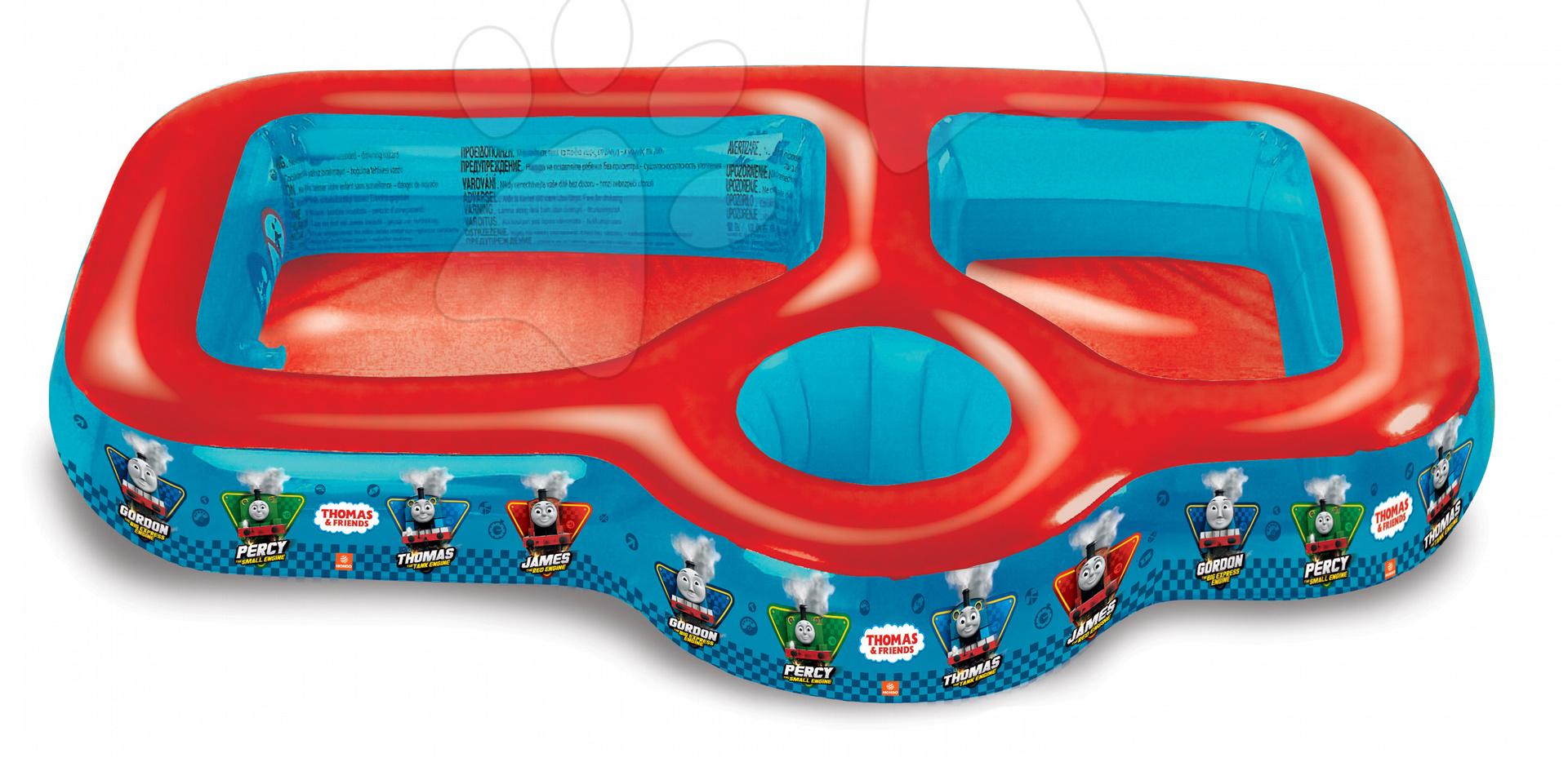 Detské bazéniky - Thomas bazén Mondo trojdielny na vodu, piesok a vedierko