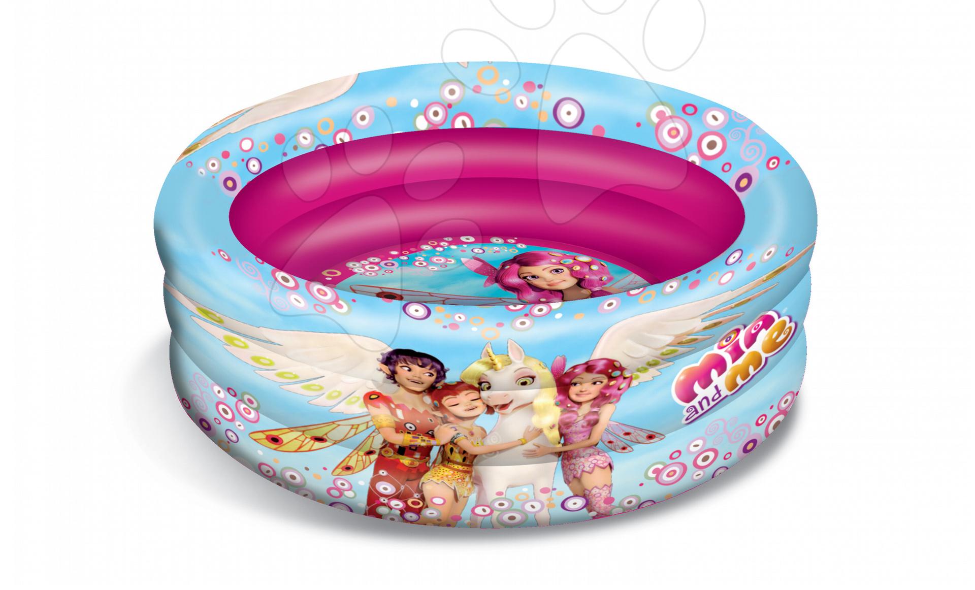 Nafukovací bazén Mia and Me Mondo tříkomorový 100 cm