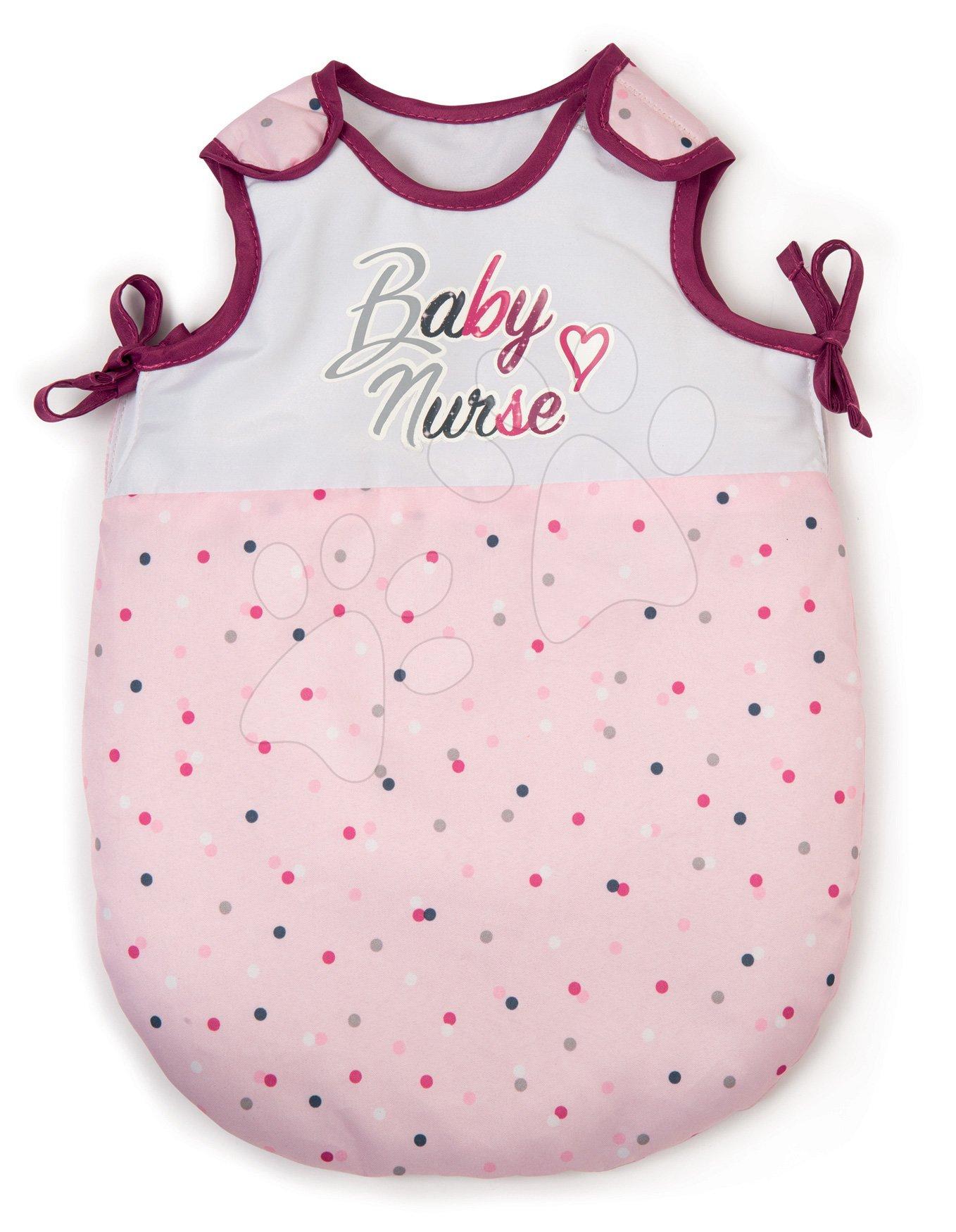 Spací vak Violette Baby Nurse Smoby pre 42 cm bábiku od 18 mes