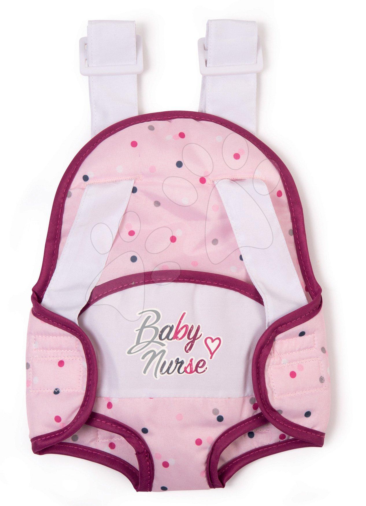 Nosič Violette Baby Nurse Smoby pre 42 cm bábiku ergonomický