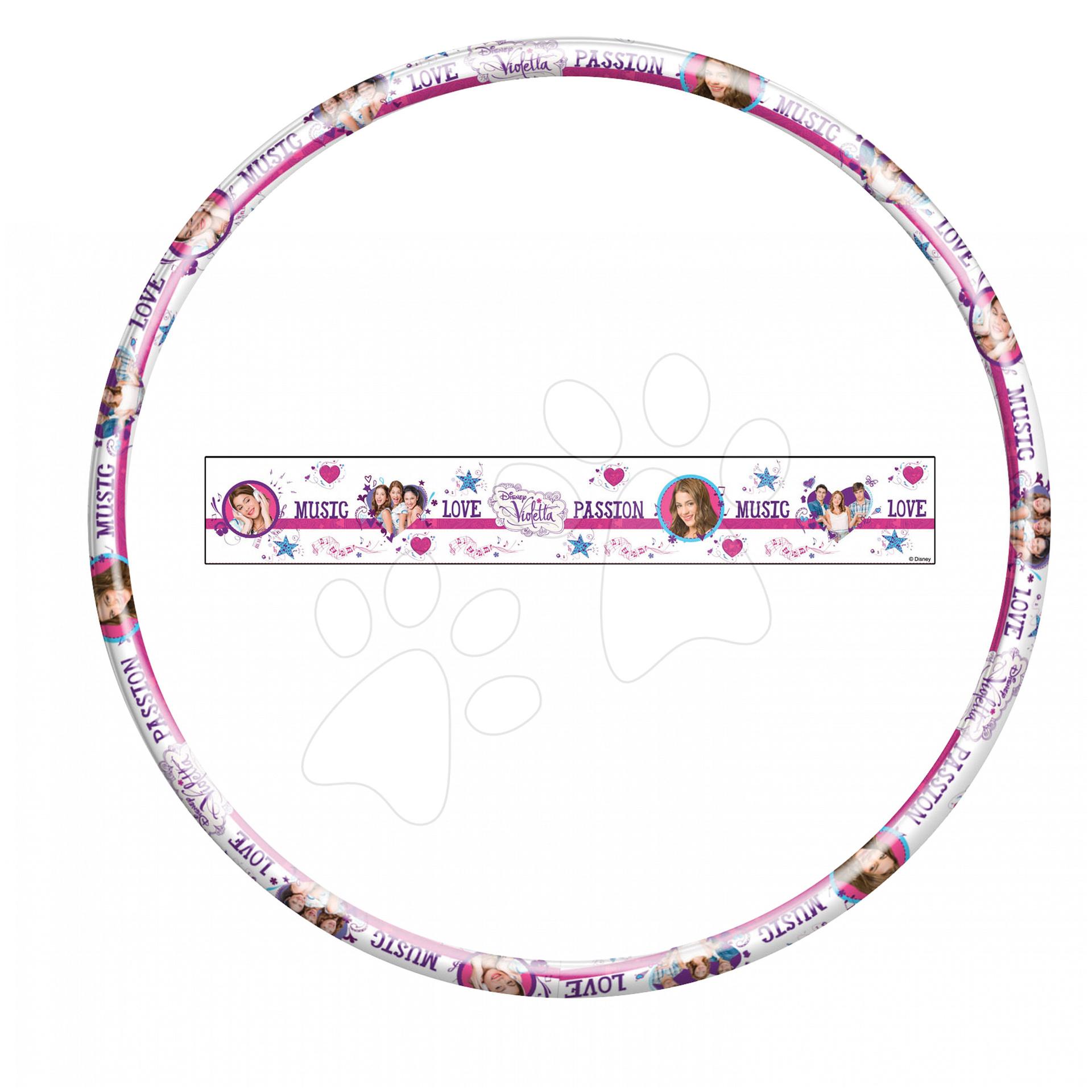Kruh na cvičení Violetta Hula Hoop Mondo průměr 80 cm