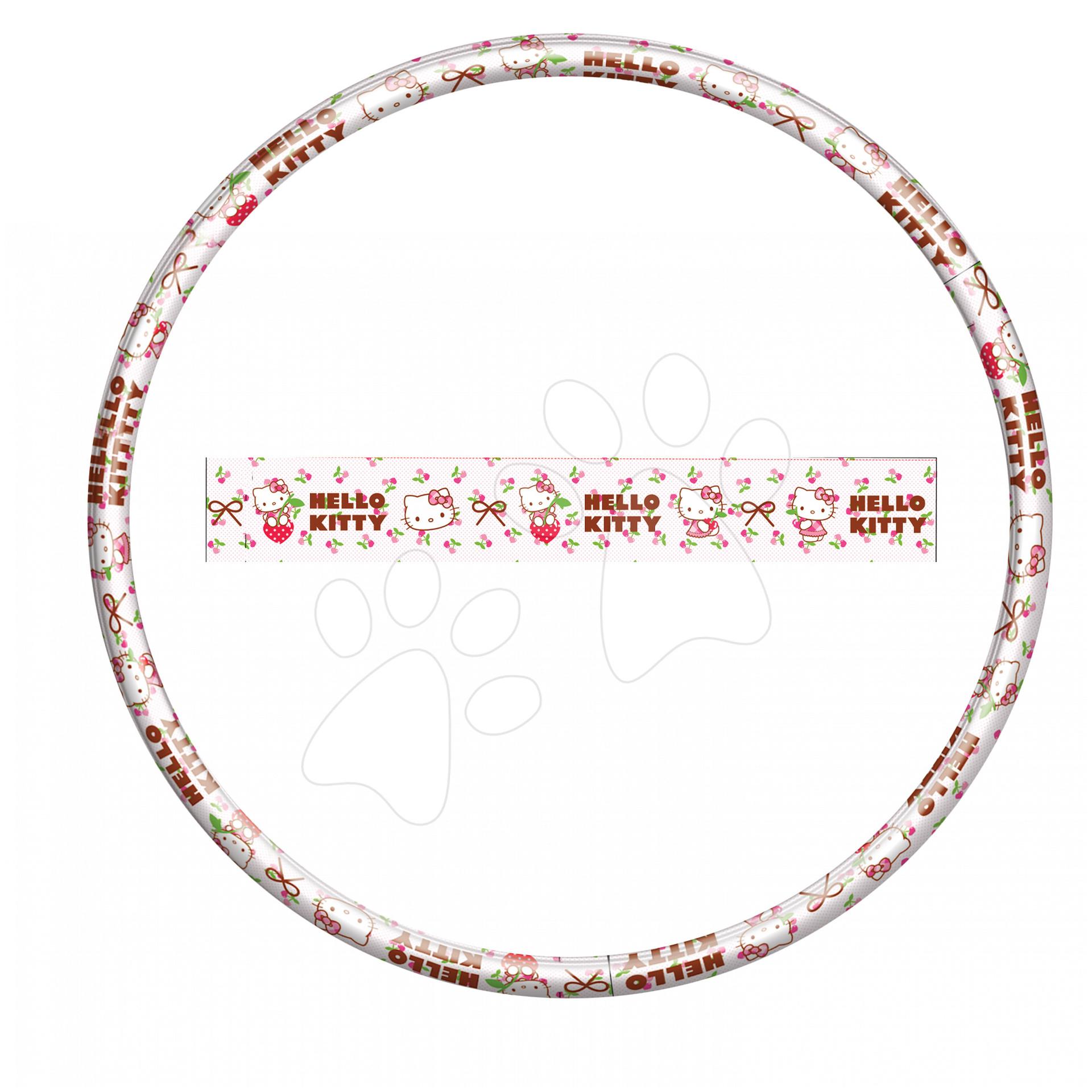 Kruh na cvičení Hello Kitty Hula Hoop Mondo průměr 80 cm
