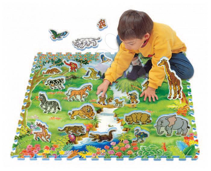 Pěnové puzzle - Pěnové puzzle Adventure Land Safari Lee Chyun 31 dílů