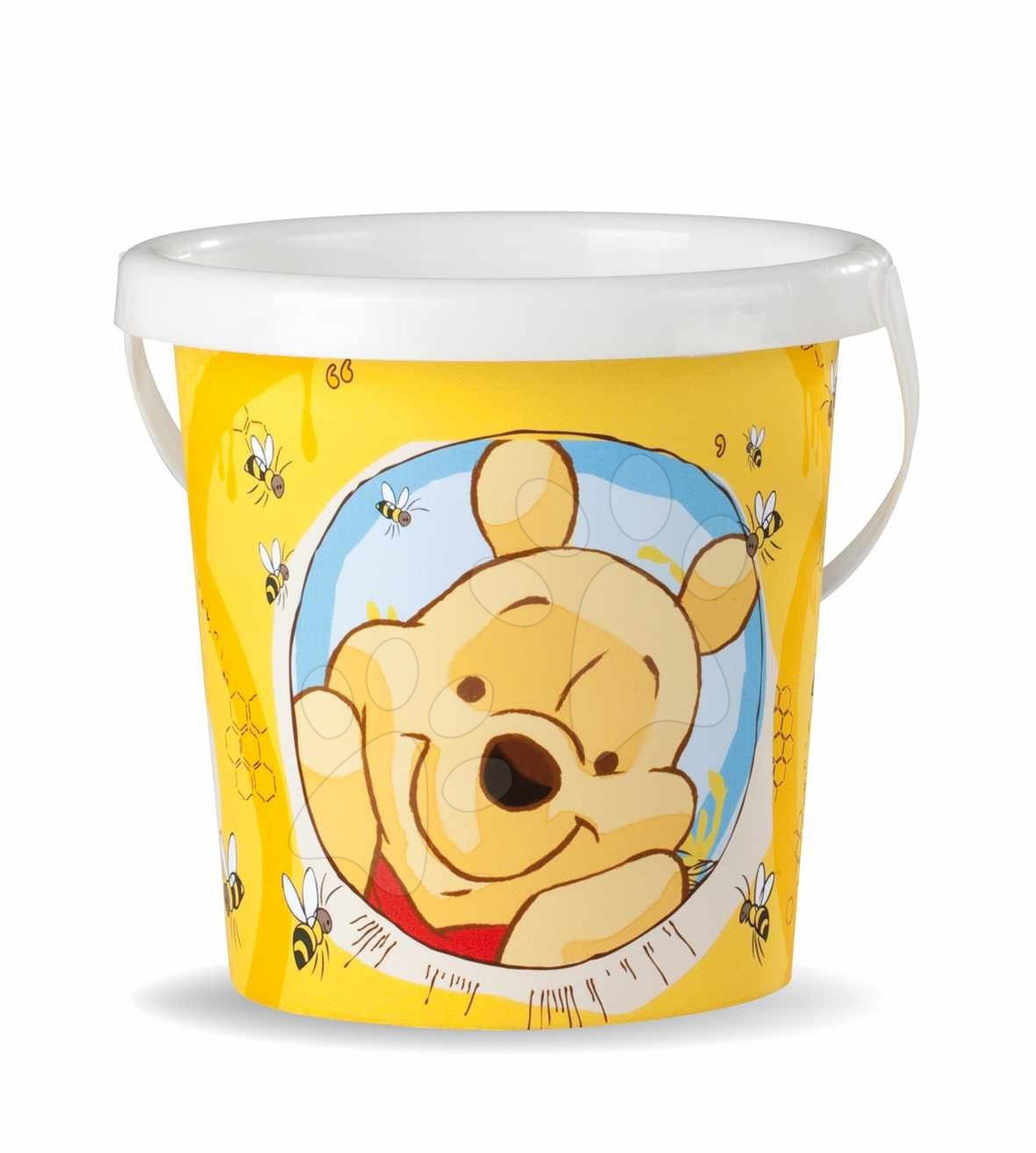 Staré položky - Vedro prázdne malé Macko Pooh Smoby 15 cm od 18 mes