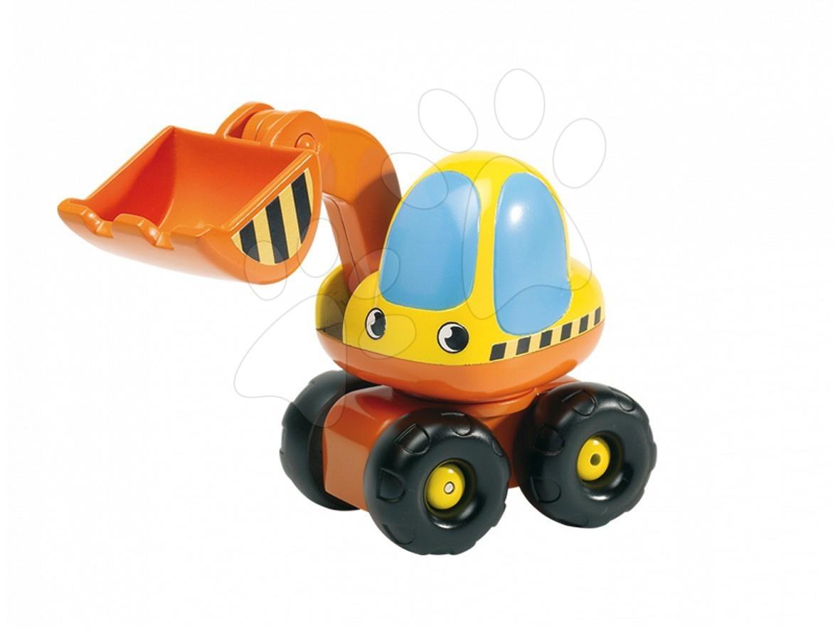 Excavator de jucărie Vroom Planet Smoby lungime 13,5 cm de la 12 luni
