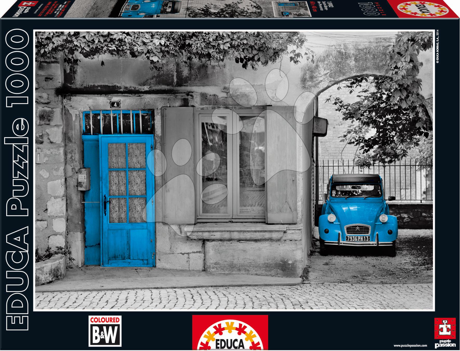 Puzzle 1000 dielne - Puzzle B&W Saint Remy de Provence Educa 1000 dielov od 12 rokov