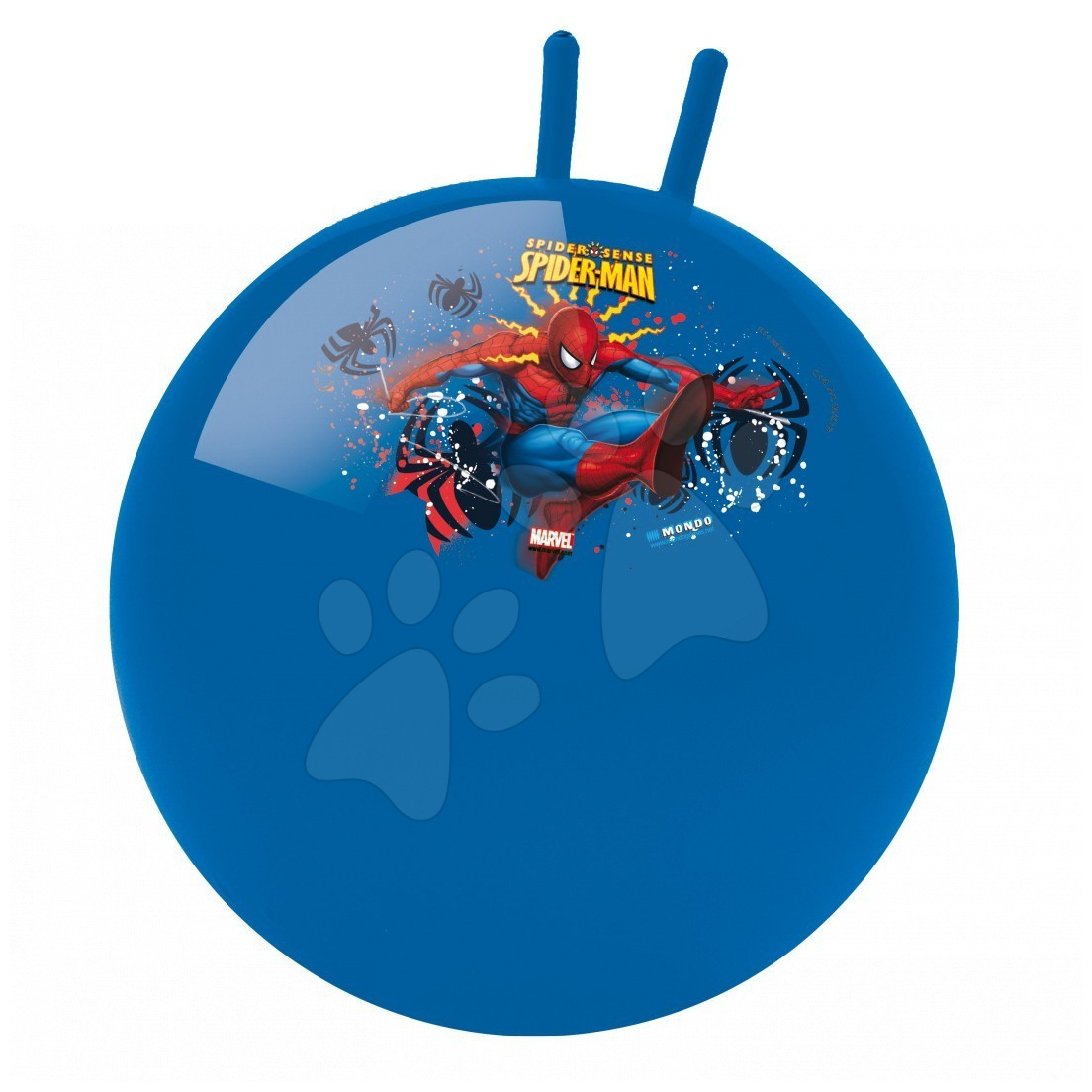Staré položky - Lopta na skákanie Kangaroo Spiderman Mondo 50 cm