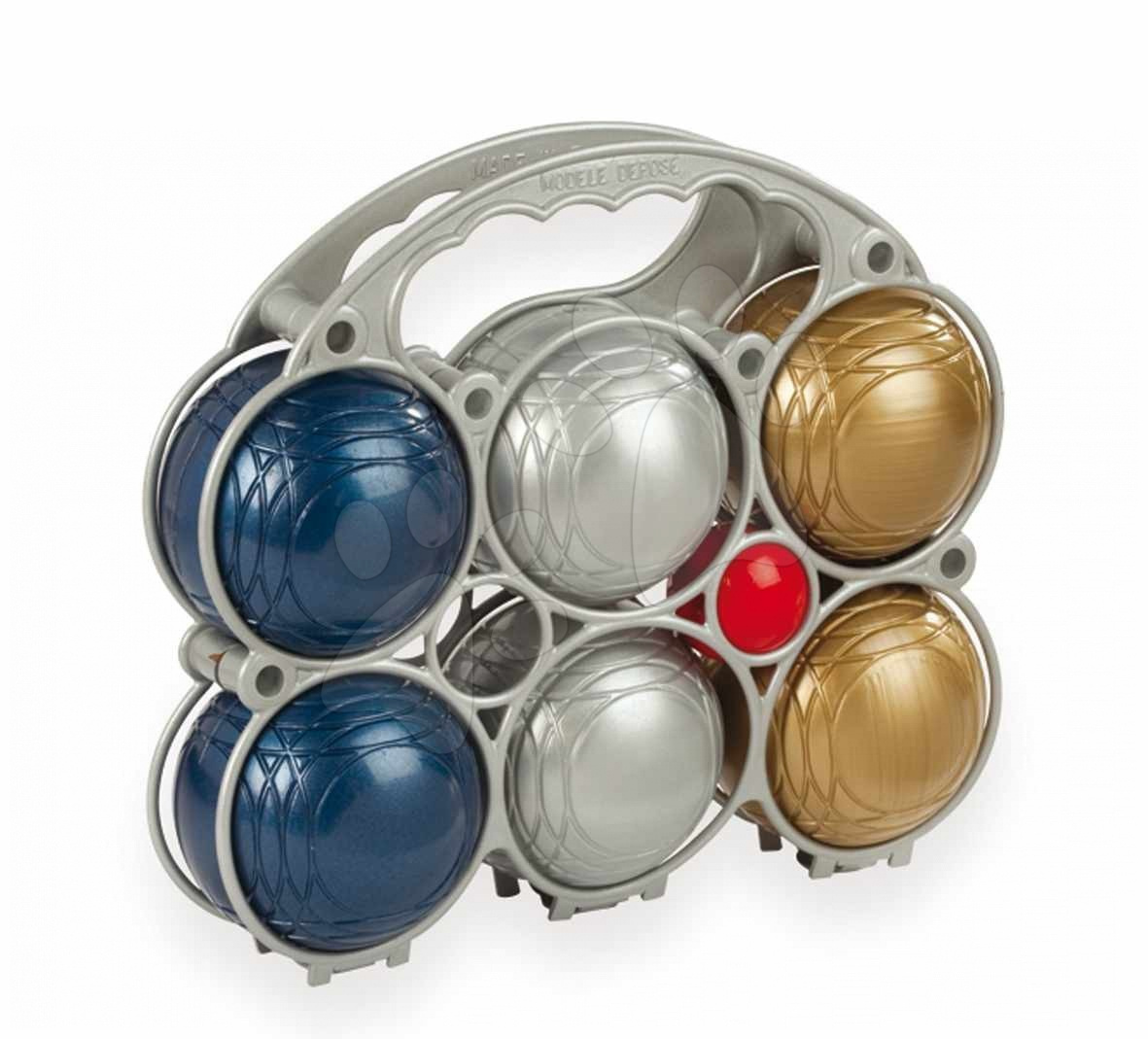 Stari vnosi - Smoby 040039 Petanca metallic (x6), 22,5*7*20 cm